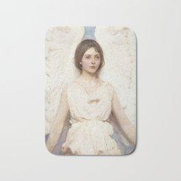 Angel, 1887 by Abbott Handerson Thayer Bath Mat