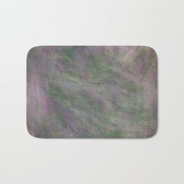 Rosen garden green purple look Bath Mat
