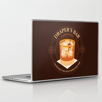 bar Laptop & iPad Skins featuring Draper's Bar by Matt Dearden