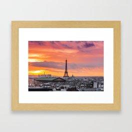 Parisien Framed Art Print