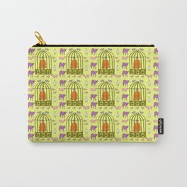 Caged Buddha Carry-All Pouch