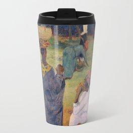 The Mango Trees bu Paul Gauguin Travel Mug