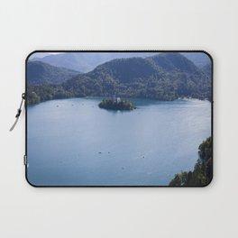 Island on the Lake Laptop Sleeve