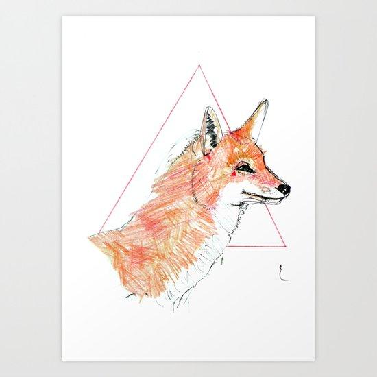 The street is mine Art Print