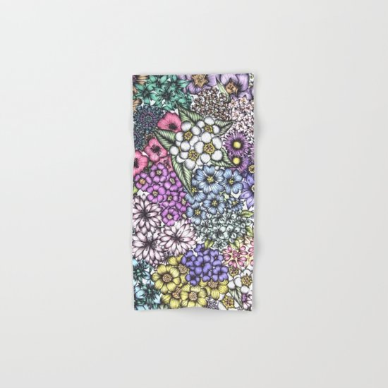 A Bevy of Blossoms Hand & Bath Towel