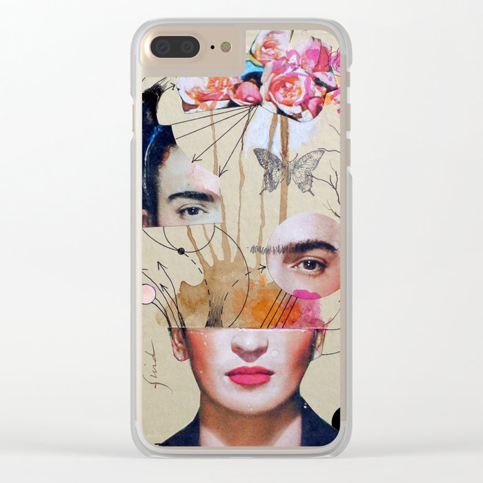 FRIDA FOR BEGINNERS Clear iPhone Case
