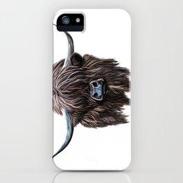 Scottish Highland Cow iPhone Case