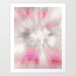 frosted cosmic Art Print
