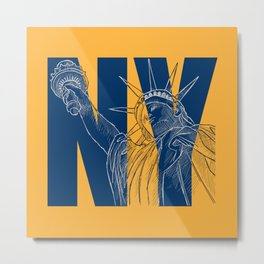 You Love New York Metal Print