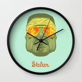 The Lebowski Series: Walter Wall Clock