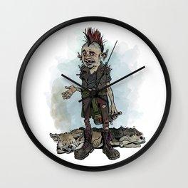 Punky Porteño Wall Clock