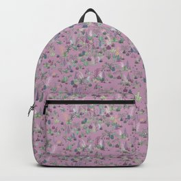 Desert Garden, Purple Backpack