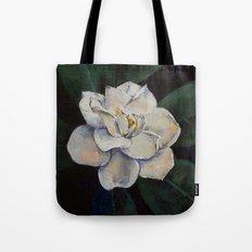 Gardenia Oil Painting Tote Bag