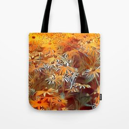 Atomic  Field Tote Bag