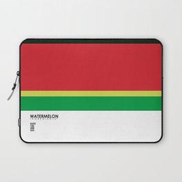 Pantone Fruit - Watermelon Laptop Sleeve