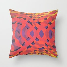Interweaving Impulses // 101a Throw Pillow