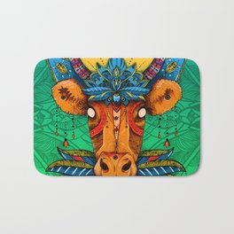 Holy Cow! Lotus. Bath Mat