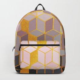 Hidden Gold Cubes Backpack