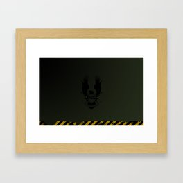 UNSC Hardcase - Laptop/iPad Skin Framed Art Print