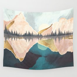 Summer Reflection Wall Tapestry