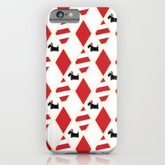Scottie Dog Christmas Pattern iPhone 6s Slim Case