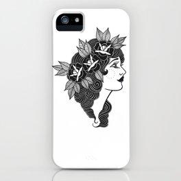 Pinup Profile iPhone Case