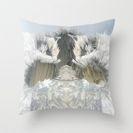 Explosive Clouds Throw Pillow