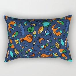 Amusons nous mini hélène Rectangular Pillow