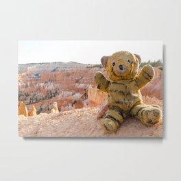 Tiger Bryce Canyon Utah, United States Metal Print