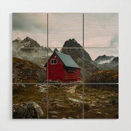 The Mint Hut in Hatcher Pass, Alaska Wood Wall Art