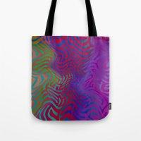 vertigo Tote Bags featuring Vertigo by RingWaveArt
