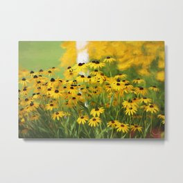 Wake Up Little Suzies Metal Print