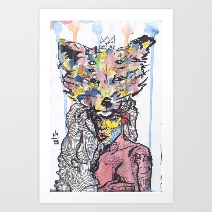 Magda Maria Art Print