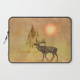Deer in the autumn Laptop Sleeve