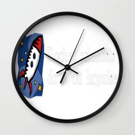 Rocket Scientists Do It On Impulse Wall Clock