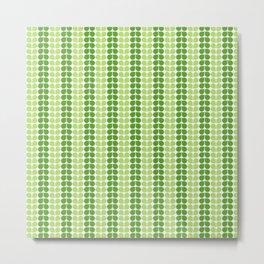 Pattern green green  Metal Print