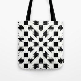 REGIME black and white prism Tote Bag