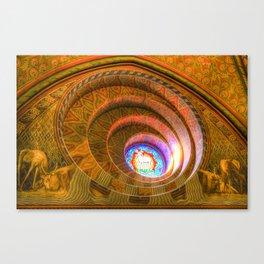 The Round Window Mathias Church Budapest Canvas Print
