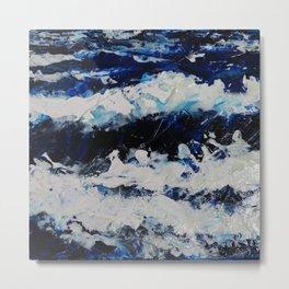 Waves IV Metal Print
