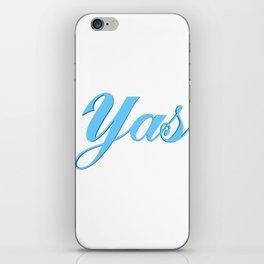 Yas iPhone Skin