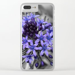 Portuguese Squill Beauty Clear iPhone Case