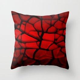 Fire Stone Throw Pillow
