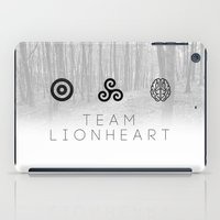 teen wolf iPad Cases featuring Teen Wolf by Ana Sánchez