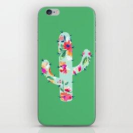 Colorful cactus iPhone Skin