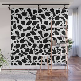 Fruit Salad (white) Wall Mural