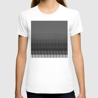 glitch T-shirts featuring Glitch by Emilio Bello