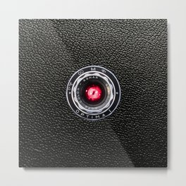 Retro camera   devil lens    vintage design Metal Print