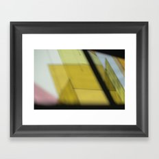 Making Shapes Framed Art Print