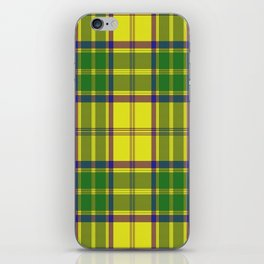 Checkered style iPhone Skin