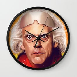 Back to the Future Doc Brown - Great Scott Wall Clock